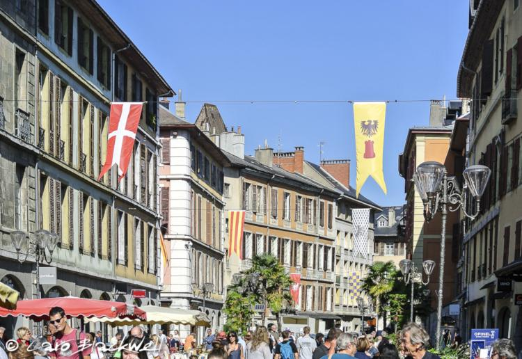 Day trips from Geneva Chambery