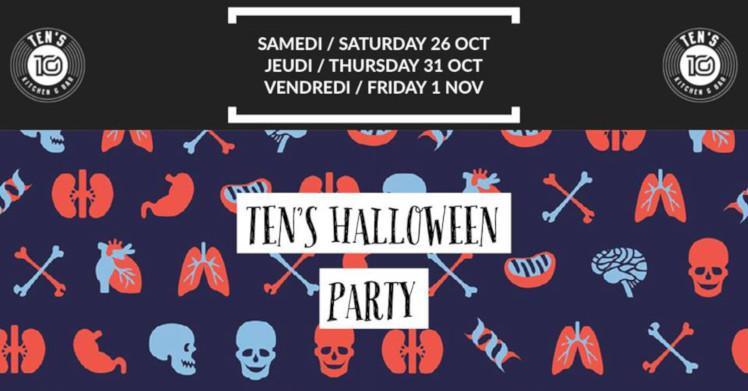 Halloween parties in Geneva 2019
