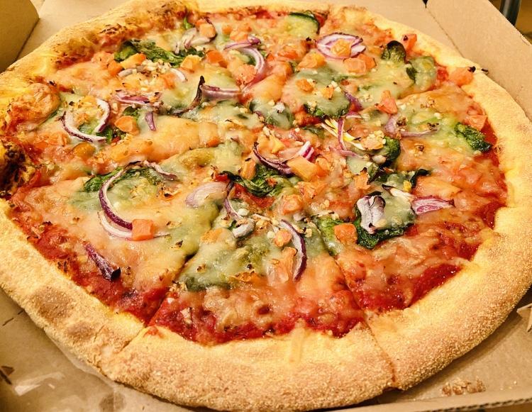 Dominos Vegan Pizza - Geneva