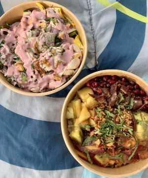 picnic dinner in Geneva