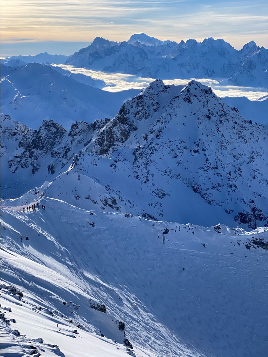 Itinerary from Mont Fort - ski resorts near Geneva