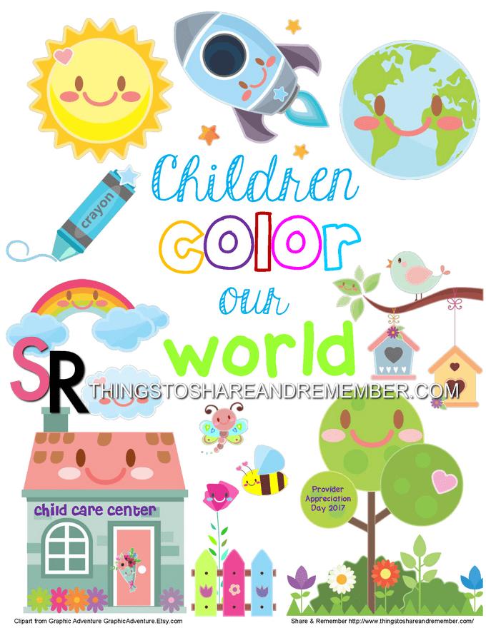 Clip Art Childcare : childcare, Child, Provider, Appreciation, Archives, Share, Remember, Celebrating