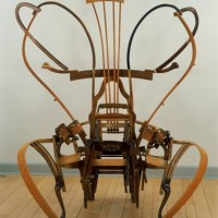 Seated Sculpture made by Marc Andre Robinson
