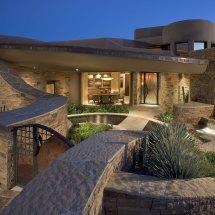 Contemporary South West Home Plans