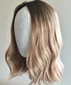 Tht Topper Dark Blonde Melt Medium Length