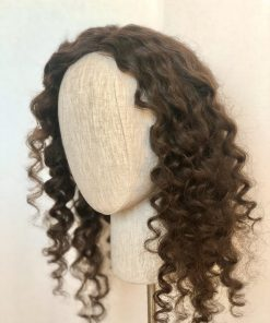 Textured Brunette Curl