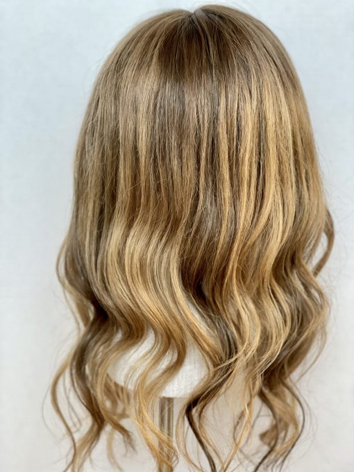 THT Topper: Rooted Honey Blonde - Long Length