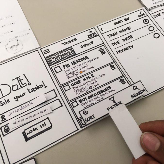 Phương pháp prototyping để moi móc thông tin