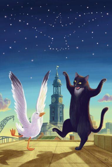 """Chuyện con mèo dạy hải âu bay là một câu chuyện kết thúc có hậu và thấm đẫm """"tình mèo"""""""