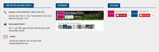 5s quảng cáo: Hoabanfood chuyên thịt trâu gác bếp và bộ đôi gia vị Tây Bắc hạt dổi, mắc khén siêu hấp dẫn 8-) (nguồn ảnh: hoabanfood.com)