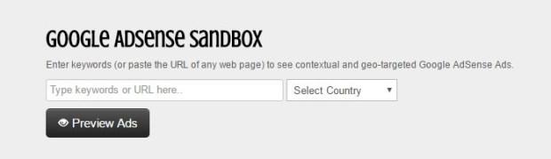 google-adsense-sanbox