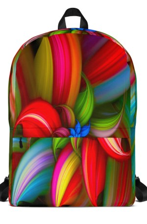 Backpack For Girls Flowers