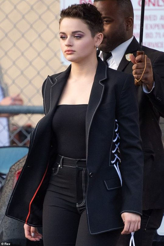 joey king in black