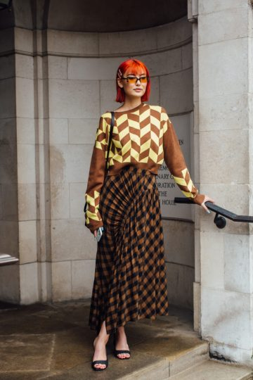 London Fashion Week Street Style 2020