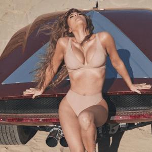 Kim Kardashian Naked Skims