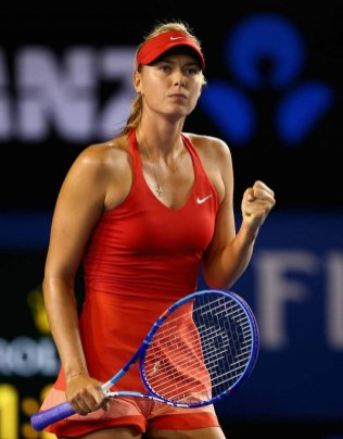 Maria Sharapova Court Style Moments8