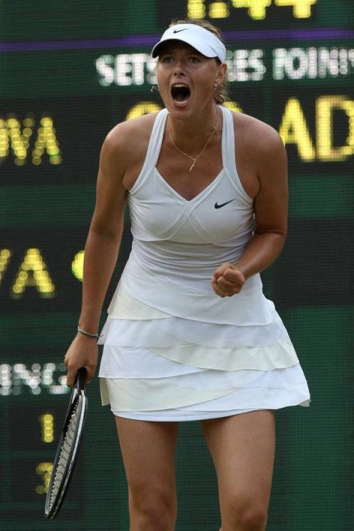 Maria Sharapova Court Style Moments