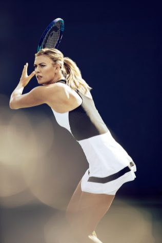 Maria Sharapova Court Style Moments9