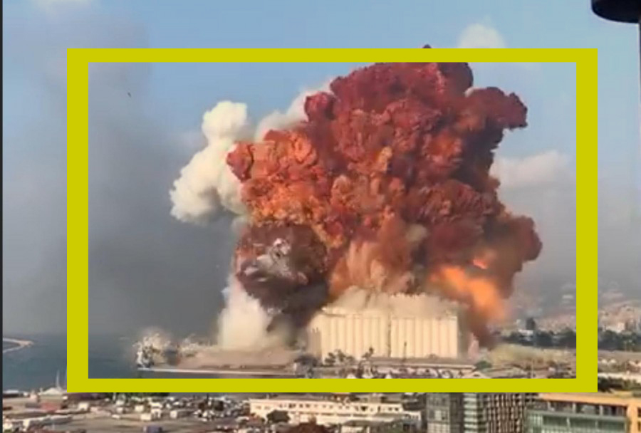 A Huge Explosion Shakes Beirut