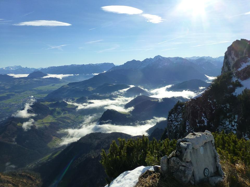 The Untersberg mountain range