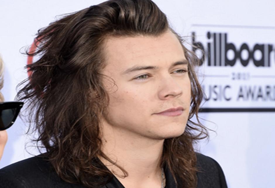 his hair - harry style hair