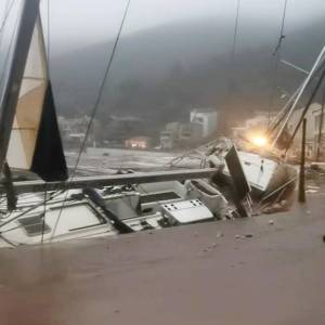 Hurricane Janus Rages On The Greek Coast