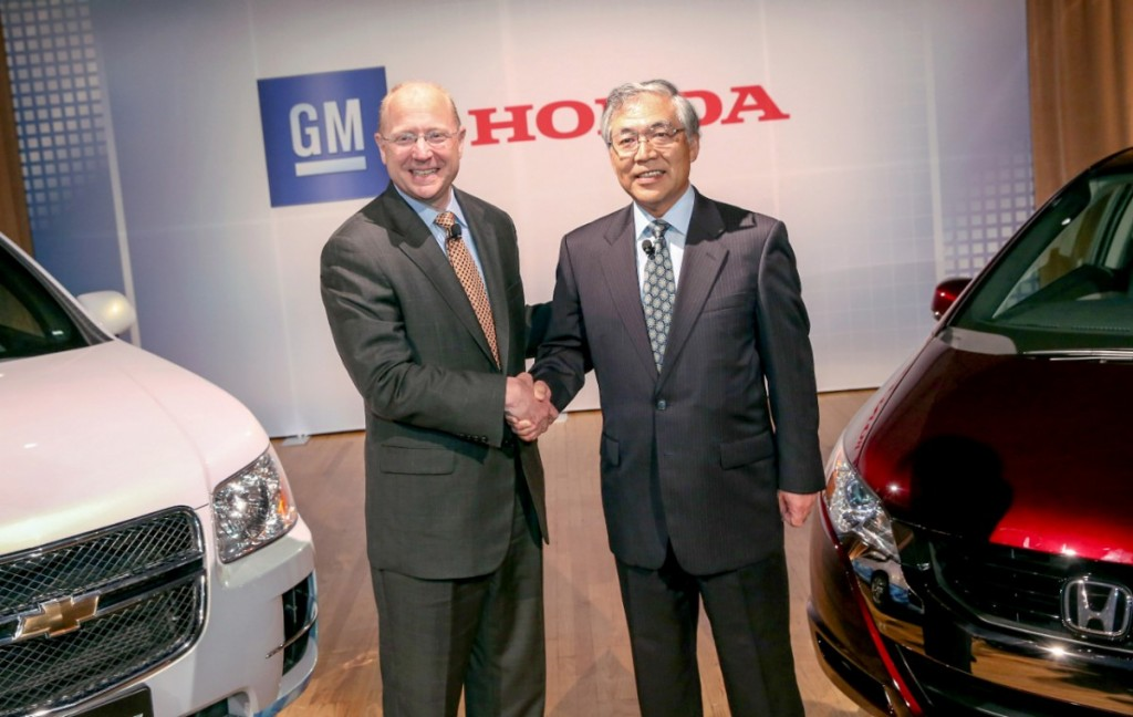 GM And Honda Sign Deal To Work On Vehicles Together
