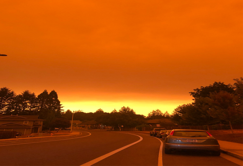 Oregon Fires Like Apocalypse