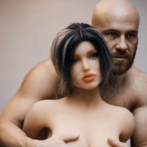 A Bodybuilder Yuri Toluchko Married A Doll