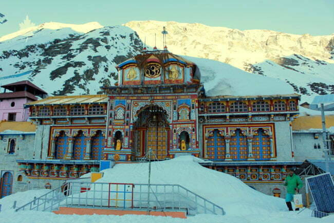 Kedarnath and Badrinath Temple