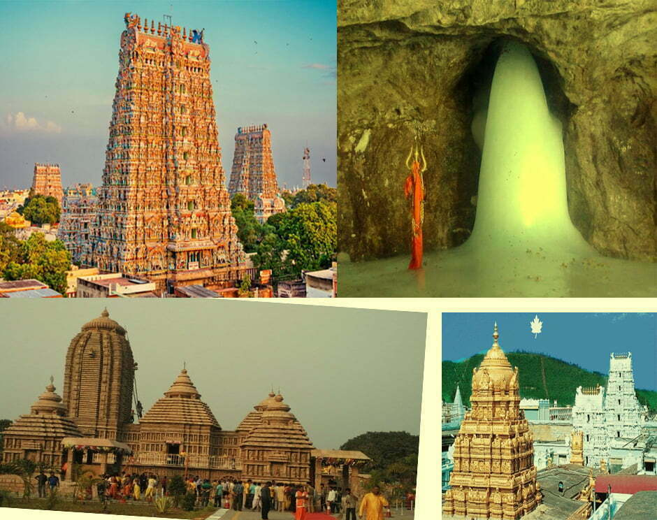 Top 8 Famous Temples To Visit In India