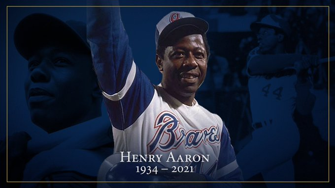 Hank Aaron, whose prodigious swing took him from a poverty-stricken section of Mobile, Alabama, to the Baseball Hall of Fame in Cooperstown, has died.