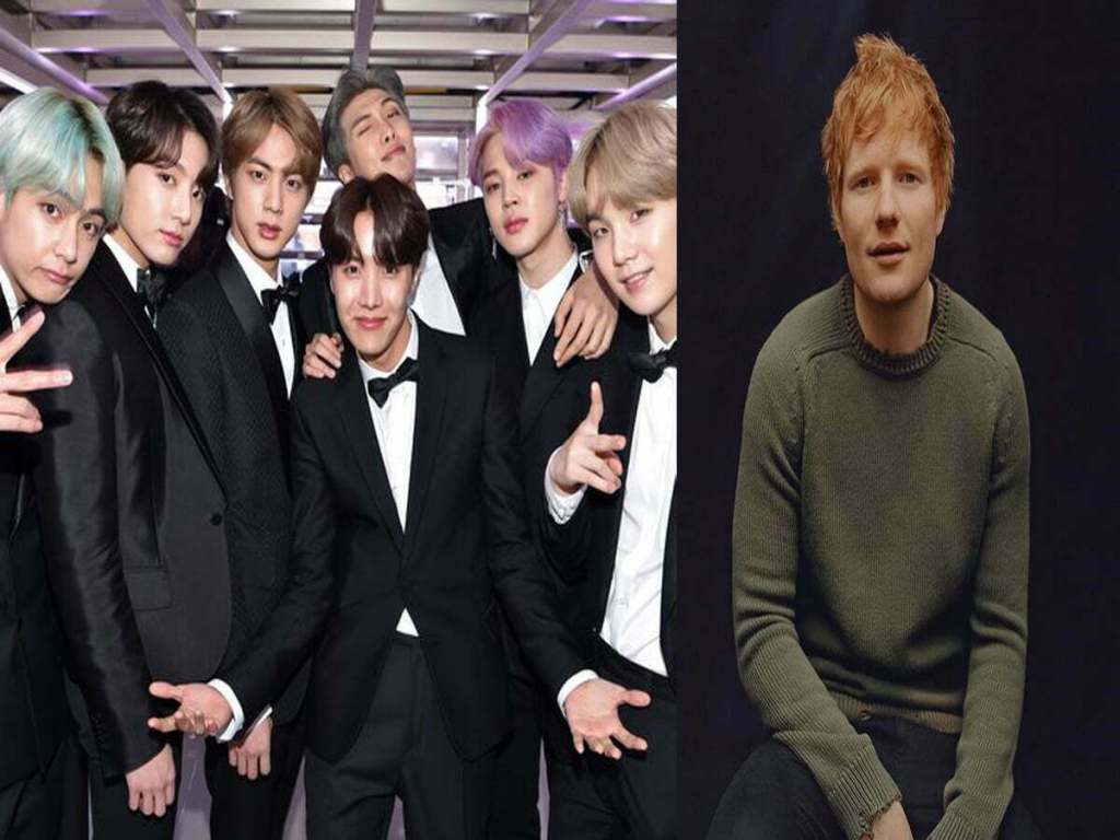 Ed Sheeran Writes Another Song For BTS