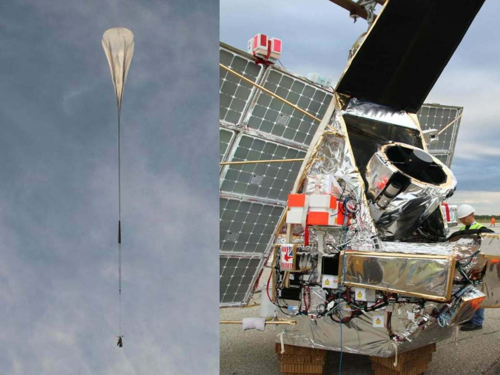 SuperBIT Telescope Is Balloon-Lofted Telescope That Could Outperform Hubble