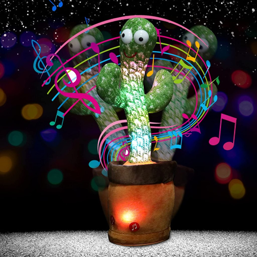 Dancing Cactus Is 1 Of Best Cactus Plush Toy For Kids And Decor 2021