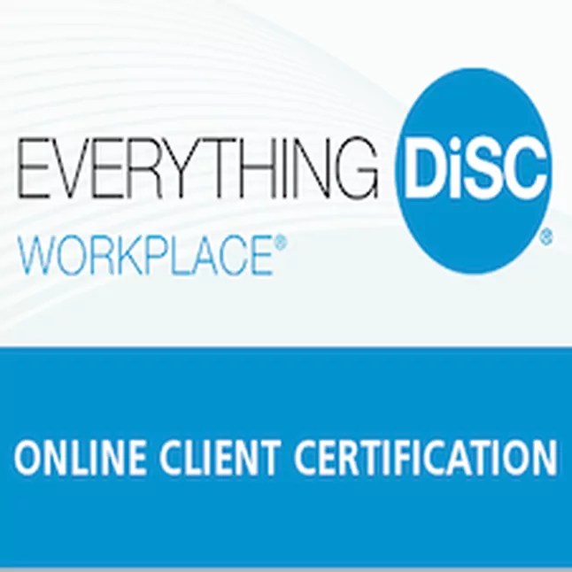 Everything DiSC Workplace Online Certification - TH!NK Training
