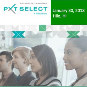 PXT Select Showcase - January 30, 2018 - Hilo