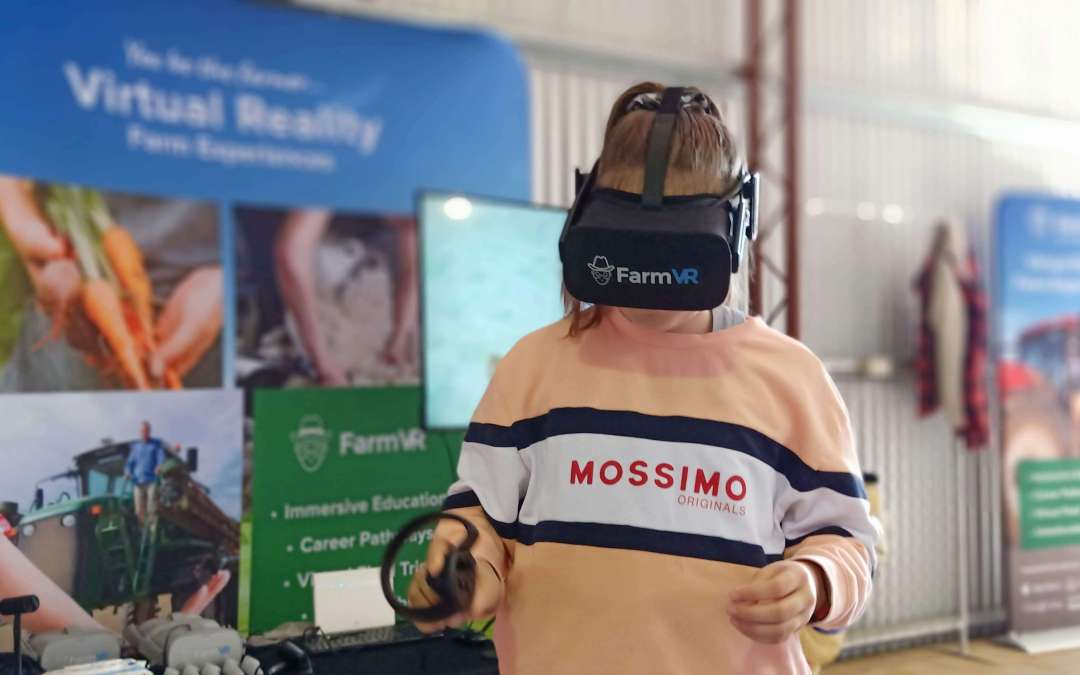 Virtual Reality Enhancing Paddock to Plate Education