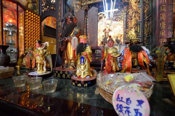 月老祭祀通常伴隨許多不同功能的從屬神