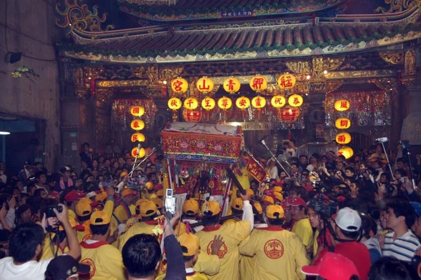 青山王遶境圓滿返廟