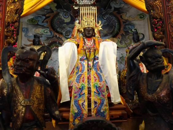 茅港尾媽祖聖像(林培雅拍攝)