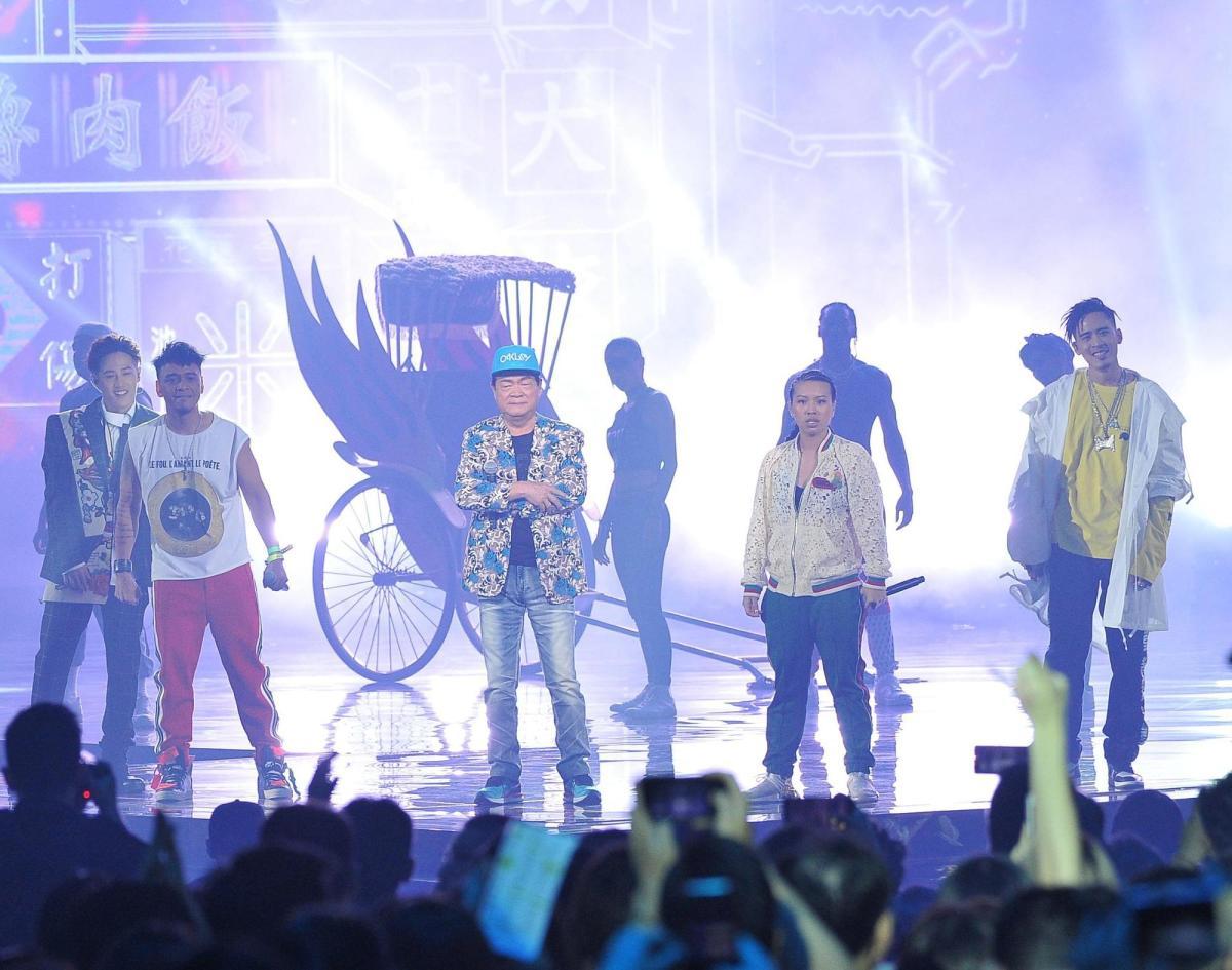 金曲獎上劉福助唱的是臺灣版嘻哈嗎?