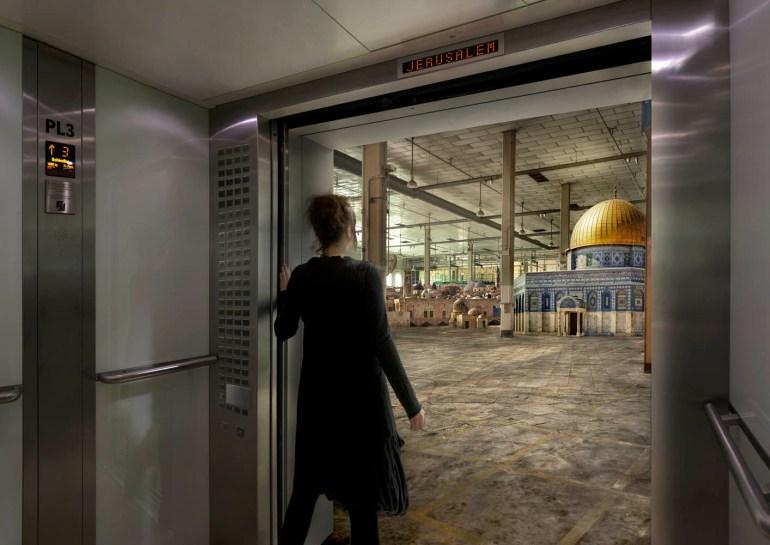 'Jerusalem', Nation Estate, Larissa Sansour (2012). © Larissa Sansour, with permission.