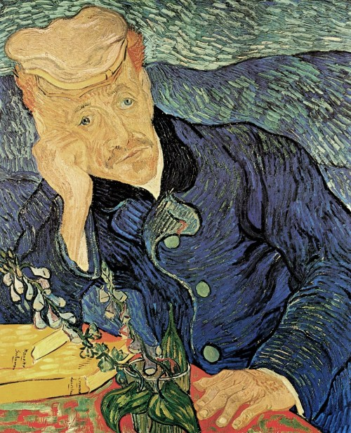 Portrait of Dr. Gachet Vincent van Gogh Jared Baxter THINK