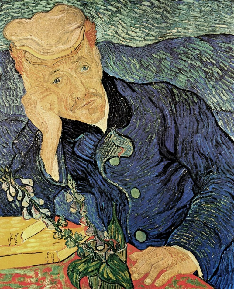 Portrait of Dr. Gachet Vincent van Gogh Jared Baxter THINK