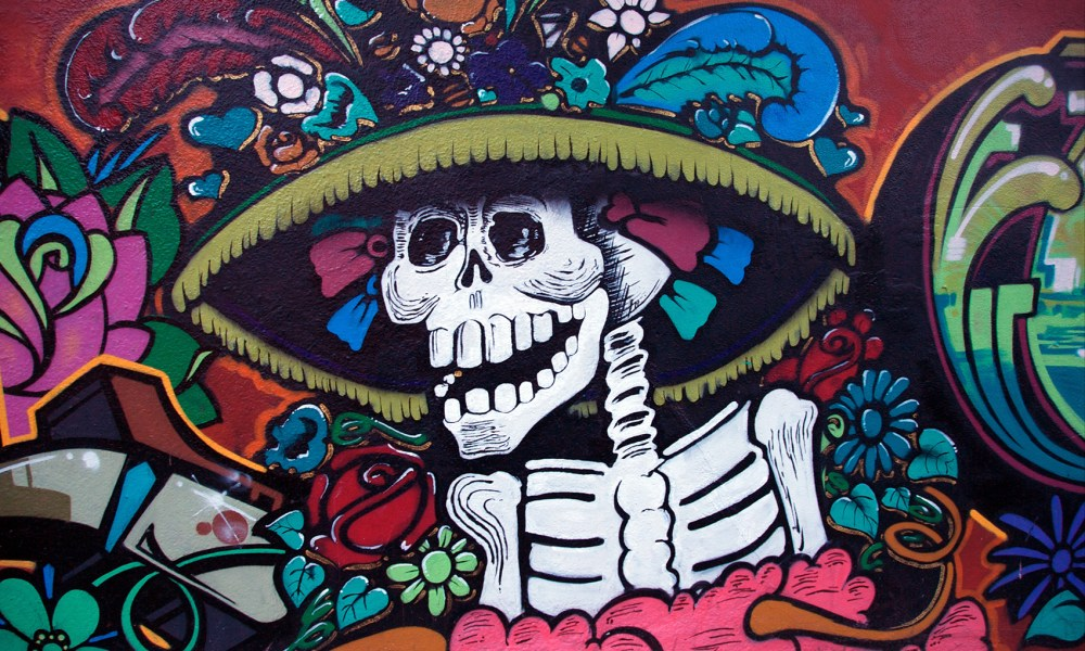 Day of the Dead mural Malcolm Lowry Under the Volcano THINK IAFOR