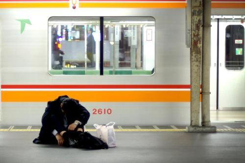 Salaryman. Nogi Syndrome, Workoholism and Karoshi. THINK IAFOR