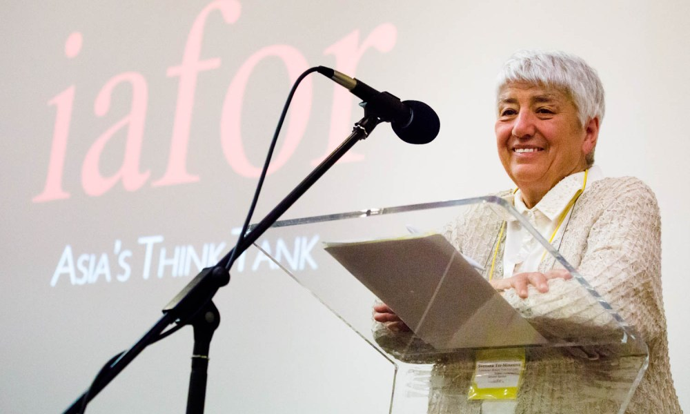Professor Svetlana Ter-Minasova, President of the Faculty of Foreign Languages and Area Studies, Lomonosov Moscow State University, Russia