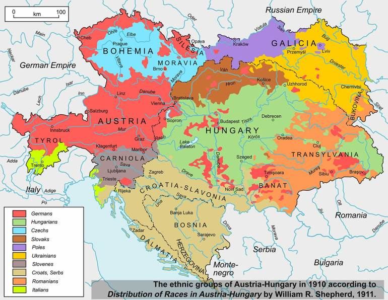 THINK The Return of the Nation Austria-Hungary-ethnic