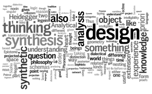 What is the difference between design thinking and analytical thinking?